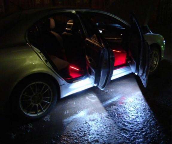 Сделать неоновую подсветку авто своими руками6